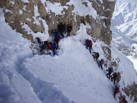 گزارش برنامه صعود زمستانی قله سرکچال«۱» – (۹۴،۱۱،۹)