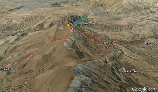 گزارش برنامه صعود قله آراکوه (۹۴،۱۱،۱۶)