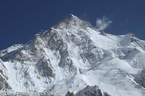 Vista del K2.