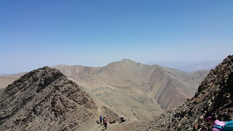 گزارش برنامه صعود قله پالون گردن (۱۳۹۵/۵/۲۲)