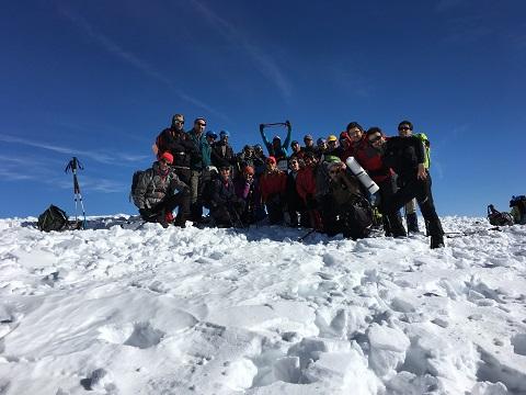 هر هفته یک برنامه«شماره ۶۷۱»/ این بار گزارش برنامه صعود قله ورجین (۹۵/۱۰/۱۷)