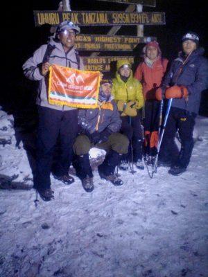 عکس قله کلیمانجارو