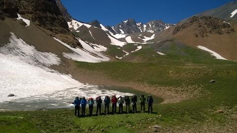 هر هفته یک برنامه «شماره ۷۰۰»/ این بار گزارش صعود قلل لشکرک و علم کوه ۹۶/۴/۲۹ (مسیر طالقان به کلاردشت)