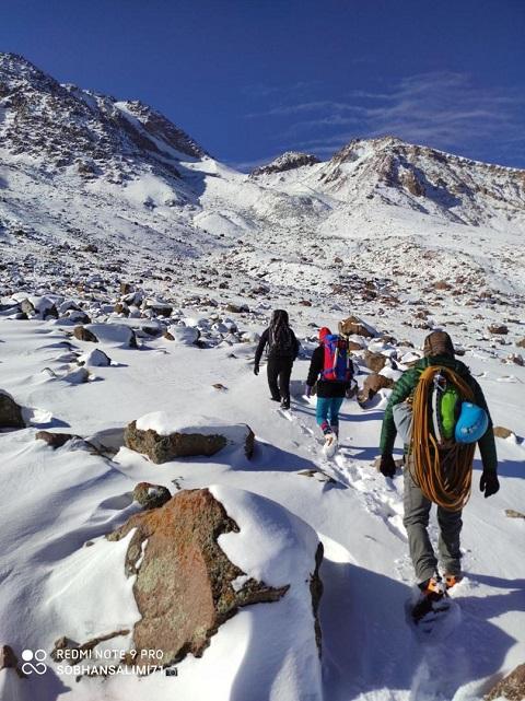 گزارش تلاش صعود یخچال سبلان – هر هفته یک برنامه«شماره ۸۹۰»