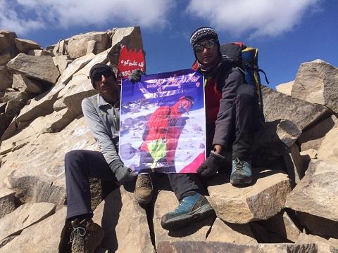 گزارش صعود قله علم کوه – مسیر ویرانه کوه و خرسان ها از طالقان – هر هفته یک برنامه «شماره ۸۸۸»