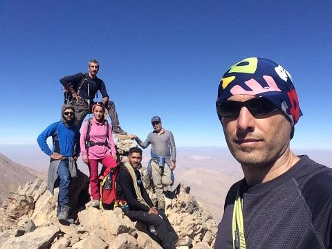 گزارش صعود قله پیارو «اشتران کوه» – هر هفته یک برنامه «شماره ۸۸۹»
