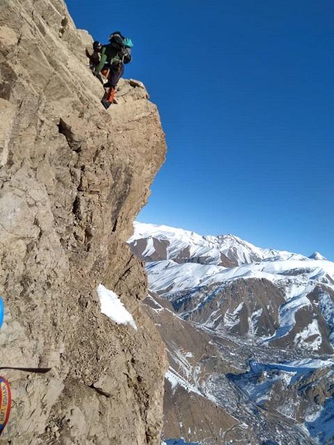 گزارش صعود زمستانی قله هزاربند ۱۱ تا ۱۳۹۹/۱۰/۱۳- هر هفته یک برنامه «شماره ۸۹۲»