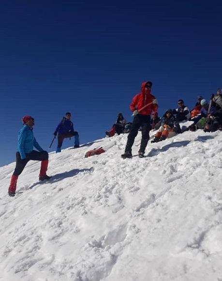 گزارش صعود قله ورجین ۱۳۹۹/۱۰/۱۲ – هر هفته یک برنامه «شماره ۸۸۶»