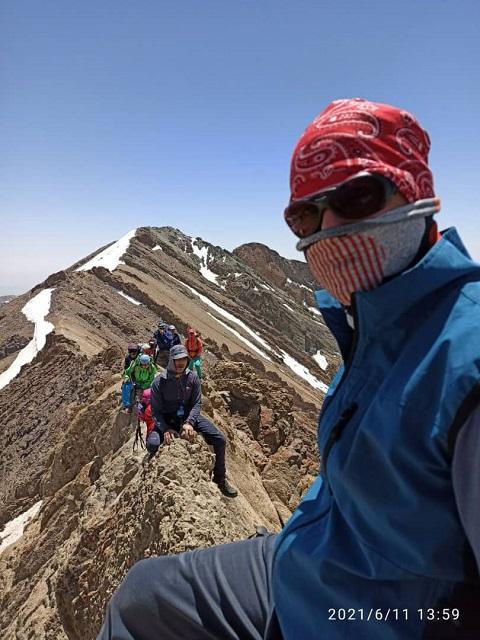 گزارش صعود قلل برج – خلنو ۱۴۰۰/۳/۲۱ – هر هفته یک برنامه «۹۱۹»