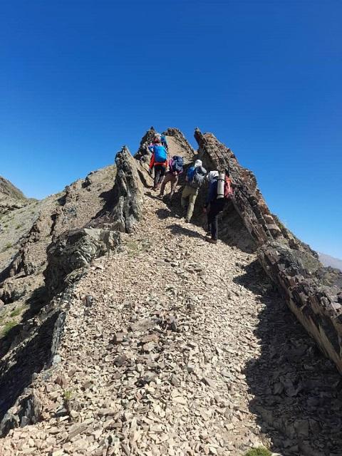 گزارش صعود قله دارآباد به توچال ۱۴۰۰/۳/۱۵ – هر هفته یک برنامه «شماره ۹۱۷»