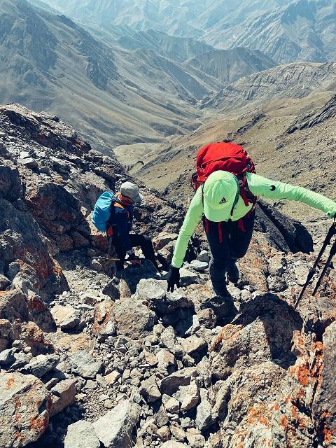 گزارش برنامه صعود قلل جانستون، برج خلنو و سرکچال ۱۴۰۰/۶/۵- هر هفته یک برنامه «شماره ۹۲۹»